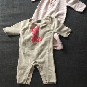 Gap button sweater onesies